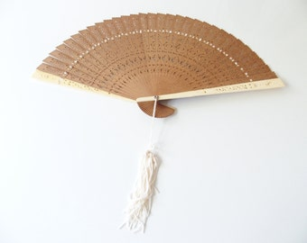 Sensu Japanese Fan Delicate Wooden Design International Shipping
