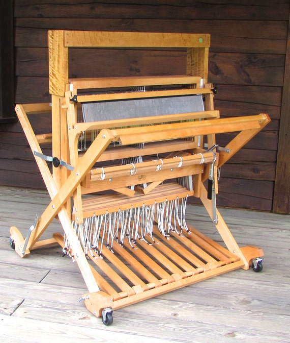 8 harness Baby Wolf Folding Loom Used by Schacht by ...