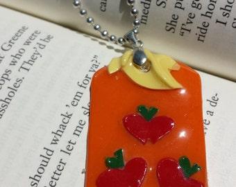 My Little Pony Inspired Applejack Pendant Necklace