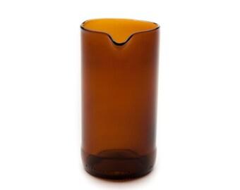 Recycled Bottle Glass Creamer