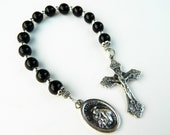 St. Anthony Prayer Chaplet Rosary: Patron of Lost Items and Missing Persons