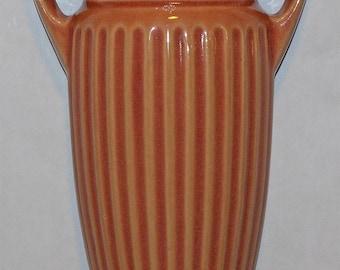 Roseville Pottery Savona Glossy Wall Pocket 1260-8