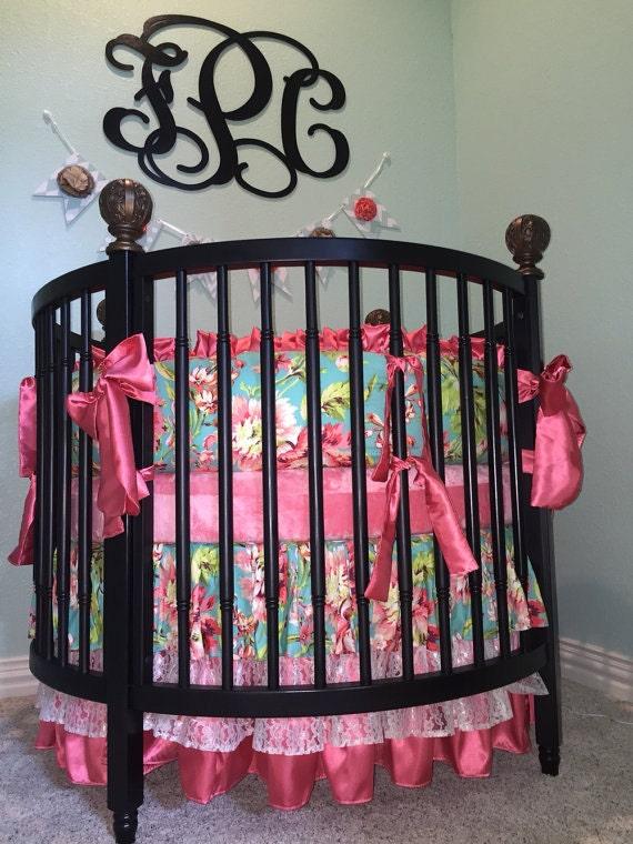 Love Bliss Round Crib Bedding SWATCH SET, Make sure fabrics are ...