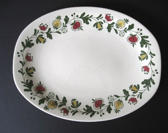 Johnson Brothers Gretchen-Green Oval Serving Platter