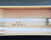 Beautiful Vintage Glass Ideal Syringe in Box