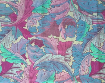 Kaffe Fassett  OOP, rare, Dancing Leaves, Lille collection, lavender lilac