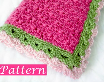PDF Pattern to make Penny's Baby Blanket