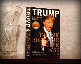 Hollow Book Safe (Think Big & Kick Ass by Donald Trump)