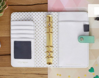 PREORDER Mint Webster's Pages Color Crush Personal Size Binder Only • Free Washi Tape with this order