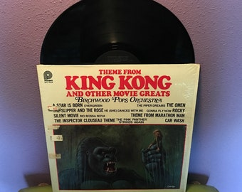FINAL SALE Vinyl Record Album Sci Fi and Action Film Themes LP 1976 King Kong The Omen Rocky