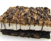 Brownie, Marshmallow, Butterscotch Krispie Bar