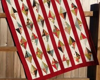 Christmas Baubles Lap Quilt
