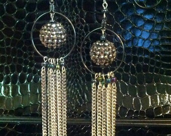 Rock and Roll at the Disco Earrings