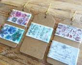 Japanese Washi Masking Tape - Curated Tape Tags- Little Path / Chamil Garden Vol.7 Collect All or Make Your Own! Perfect for Tape Collector