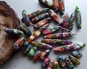 Destash Variscite gemstones rainbow