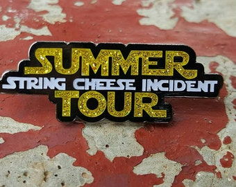 String Cheese Incident Summer Tour 2016 pin