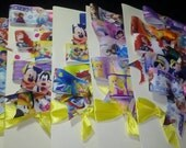 Disney themed 5 bow pack.