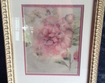Vintage Floral picture frame wedding decor shabby chic