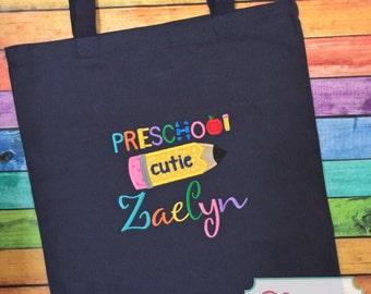 Preschool Cutie Tote Bag