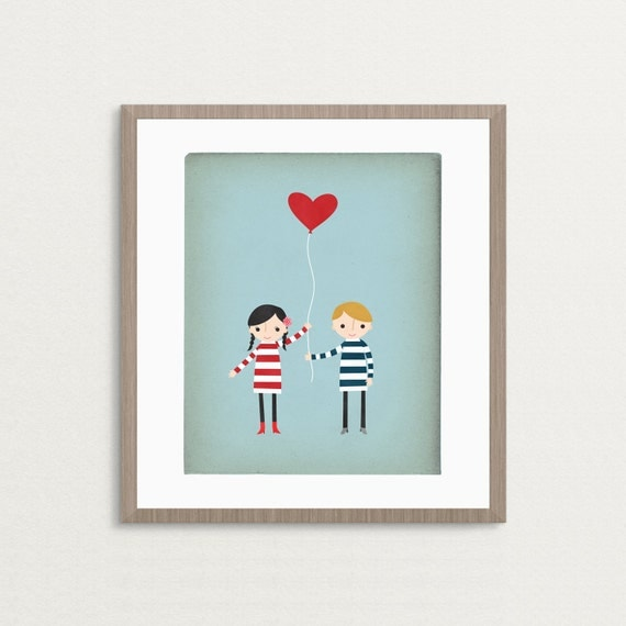 Love Is In The Air - Customizable 8x10 Archival Art Print