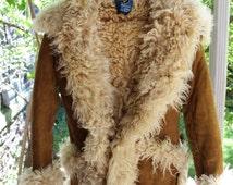 1960s Turkish Sheepskin Penny Lane Coat