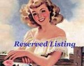 Reserved listing for (ConnieCavin) - X2376