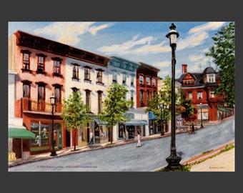 Tarrytown Street Scene #2 by Ronnie Levine