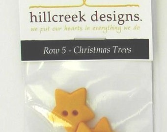Christmas Tree Button Kit Tis the Season Button Pack by Hillcreek Designs BBOMROW5-QDD