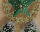 Miniature Handcrafted Filipino Christmas Lantern Ornament AKA Parol