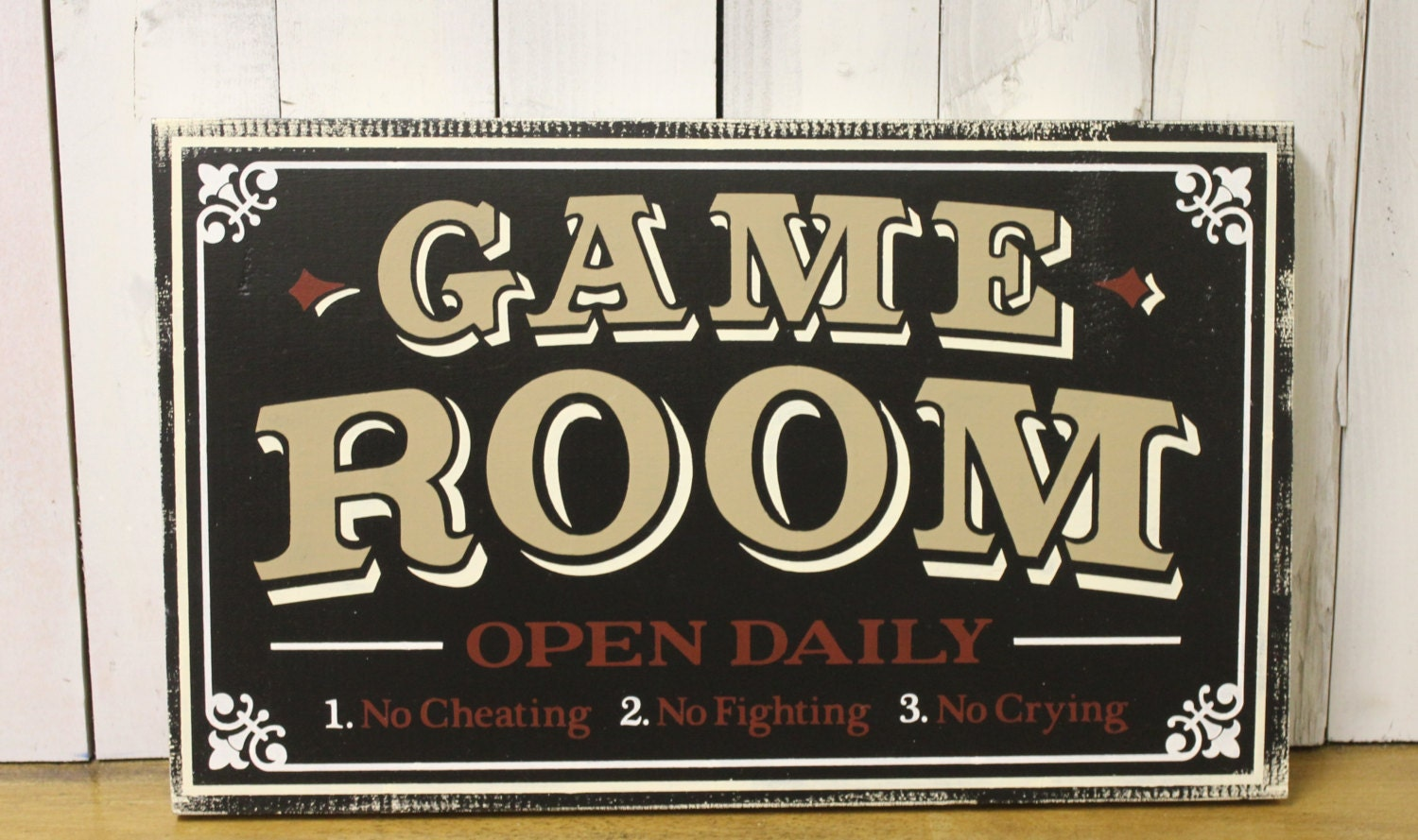 Man Cave Gifts Coupon Code : Game room sign man cave christmas gift you choose colors
