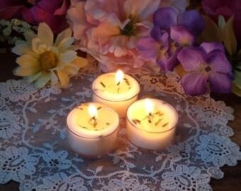 Cedar, Lavende, Sweet Grass Tealights, Smudging tea lights