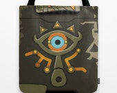The Legend of Zelda Sheikah Slate Tote Bag