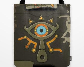 The Legend of Zelda Sheikah Slate Tote Bag