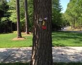 Picasso Tree Face - Original Unique Garden Art Yard  -  In Stock