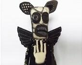 Gothic Doll Horror Doll Scary Plush Art Doll Gothic Horror