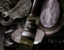The Reading of Leaves Natural Perfume Apothecary Roll on Bottle Green Tea, Orris,  Tonka, Orange,Lime,Bergamot, Amyris, Black Pepper