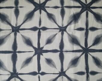 Schumacher Andromeda charcoal linen fabric