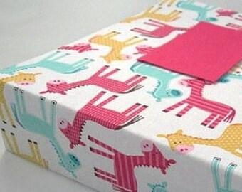 Girl Photo Album Baby Photo Album 4x6 5x7 8x10 photo album Personalized Picture Book Pink Donkey Newborn Baby Gift Keepsake Custom Scrapbook