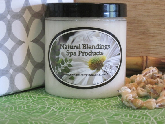 COCONUT MILK Whipped Body Parfait Made to Order 8 OZ Jar Natural Blendings Most Popular Product Custom Fragrance