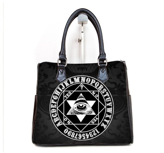 Mystic Eye Barrel Style Hand Bag