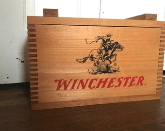 Old Dovetailed Winchester Ammo Box