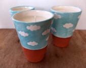 Cloud Container Candle - Scented Soy Wax Candle