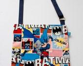 Washable, Eco-Friendly Car Trash Bag in Batman Fabric