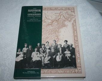 Hard Cover Book The Handbook For Genealogists United States of America Eighth Edition 1991