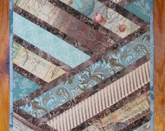 Quilted Table Runner Beach Theme Quiltsy Handmade