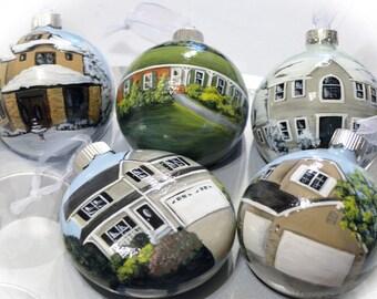 Custom Hand Painted Home Ornament