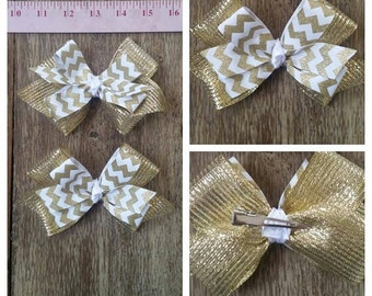 set of 2 PIGTAIL BOWS in fun prints, colors, and designs. FREE shipping