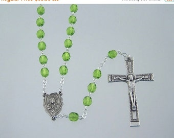 15% OFF SALE August Birthstone Rosary