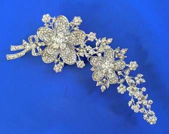 Wedding Pearl Pin, Wedding Pearl Brooch, Large Brooch Pin, Wedding Brooch Pin, Bridal Brooch  Pin, Wedding Bridal Pin, Wedding Bridal Brooch