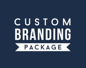 Custom Branding Package Design - custom logo design, business card design, watermark design, web banner design